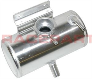 OBP alloy header tank round with Raceparts