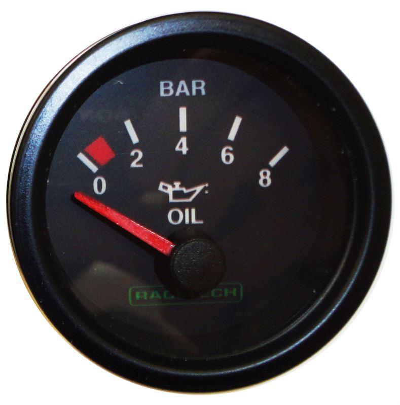 Racetech Electric Oil Pressure Gauge - Raceparts
