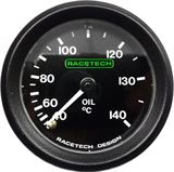Racetech mechanical oil temperature gauges