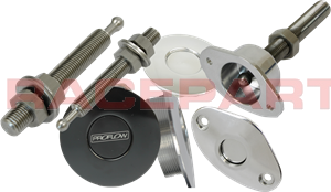 Push button ejecting fasteners accessories from Raceparts