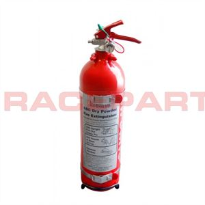 Lifeline dry powder belt mounted extinguishers