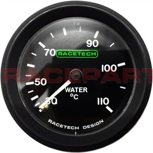 Mechanical water temperature gauges
