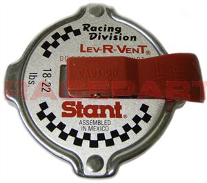 Stant Racing radiator cap lever type with Raceparts