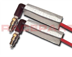 Thermotec spark plug wire heat shield