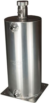 OBP alloy dry sump tanks with Raceparts